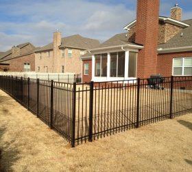 Style C aluminum fence