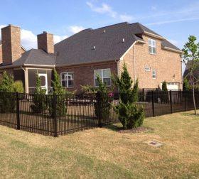 Aluminum perimeter fence, style B